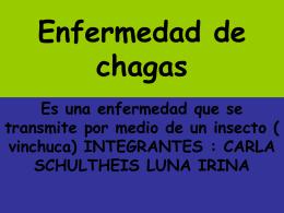 Enfermedad de chagas - Elprofetic's Blog | Para exponer