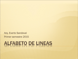 ALFABETO DE LINEAS