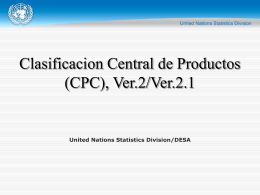 Index of industrial production - United Nations Statistics