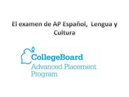 El nuevo examen de AP