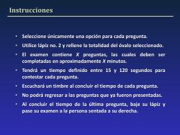 Especialidades Ejemplo Examen_2014