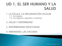 UD 1. EL SER HUMANO Y LA SALUD