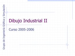 Dibujo Industrial I