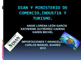 DIAN Y MINISTERIO DE COMERCIO,INDUSTIA Y …