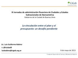Diapositiva 1 - Buenos Aires Ciudad