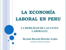 RATIOS FINANCIEROS - Colegio de Economistas de Lima
