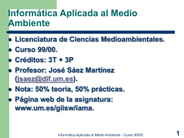 Diapositivas del Tema 1