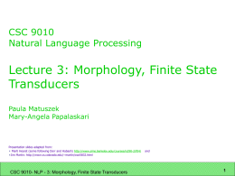 SIMS 290-2: Applied Natural Language Processing: Marti …