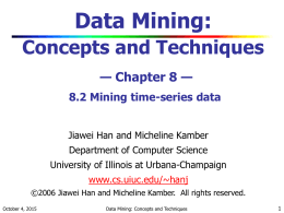 cs412slides - University of Illinois at Urbana–Champaign