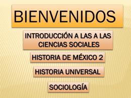 Diapositiva 1 - Aprender Historia | Viviendo nuestro