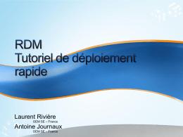 RDM Webcast