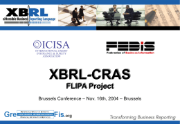 XBRL Int'l conference