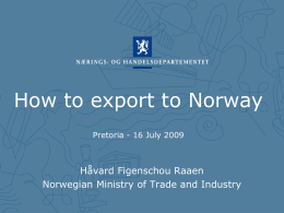 Norwegian-Finnish business co