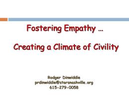 Fostering Empathy Presentation