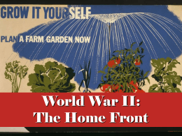 World War II Home Front