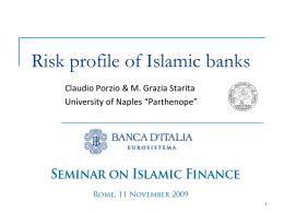 Diapositiva 1 - Banca d'Italia