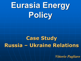 Eurasia Energy Policy
