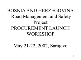 MODULE 1 PROJECT PROCUREMENT DOCUMENTS