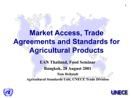 UN/ECE Standards for Perishable Produce on the World …