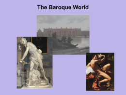 Chapter 15 - The Baroque World
