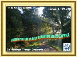 Tiempo Ordinario 04 C 31-1-10