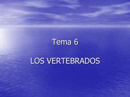 LOS VERTEBRADOS - Ciencias Sobrarbe