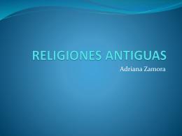 RELIGIONES ANTIGUAS