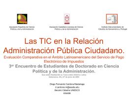 Defensa de proyecto en Salamanca