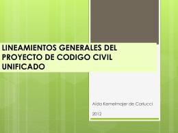 LINEAMIENTOS GENERALES DEL ANTEPROYECTO DE …