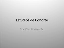 Estudios de Cohorte - Blog de Medicina UPV 2009