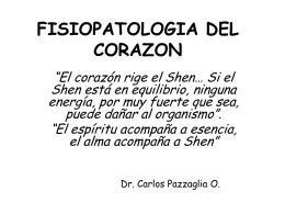 FISIOPATOLOGIA DEL CORAZON