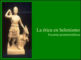 El helenismo. - MATERIALES 2015/16