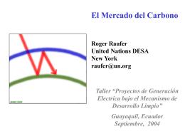 El Mercado del Carbono