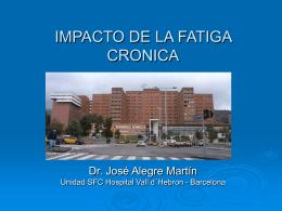 SINDROME DE FATIGA CRONICA ESTRATIFICACION Y …