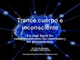 Trance Cuerpo eInconsciente