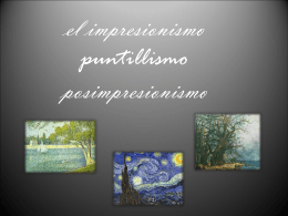 el impresionismo puntillismo posimpresionismo