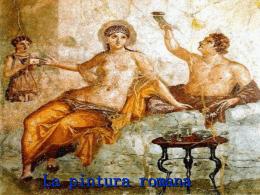 La pintura romana
