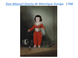 Don Manuel Osorio de Manrique Zuniga 1788