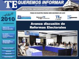 Diapositiva 1 - Tribunal Electoral: Inicio