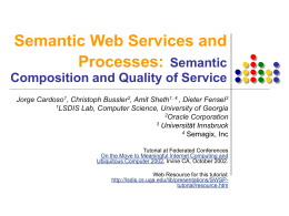 Semantic Web Services and Processes