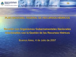 www.hidricosargentina.gov.ar
