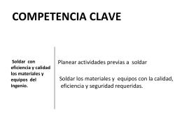 Competencia Clave