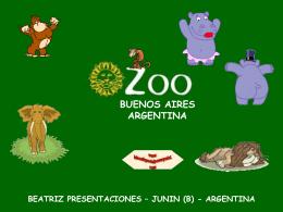 ZOOLOGICO DE BUENOS AIRES - ARGENTINA--
