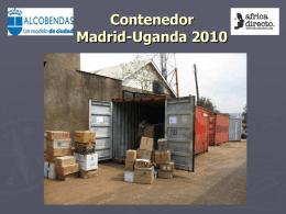 Contenedor Madrid/Kampala 2010