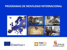 PROGRAMAS EUROPEOS - Escuela de Arte de Salamanca
