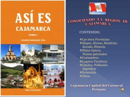 ASI ES MI CAJAMARCA - Cajamarca