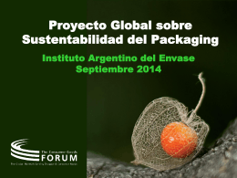 Protocolo de Sustentabilidad