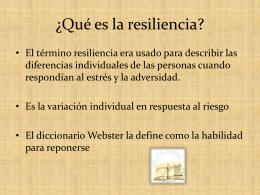 Resiliencia Empresarial