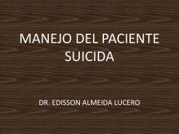 Paciente suicida