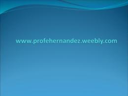 La Prehistoria - Prof.EHernandez